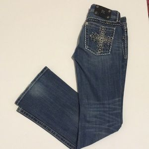 Miss me women's size 28 embellished bootleg jeans